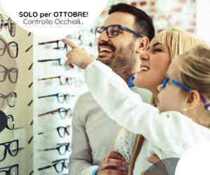 Controllo occhiali